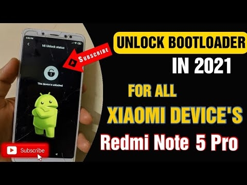 How to Unlock Bootloader In Redmi Note 5 pro 2021 And All Xiaomi devices