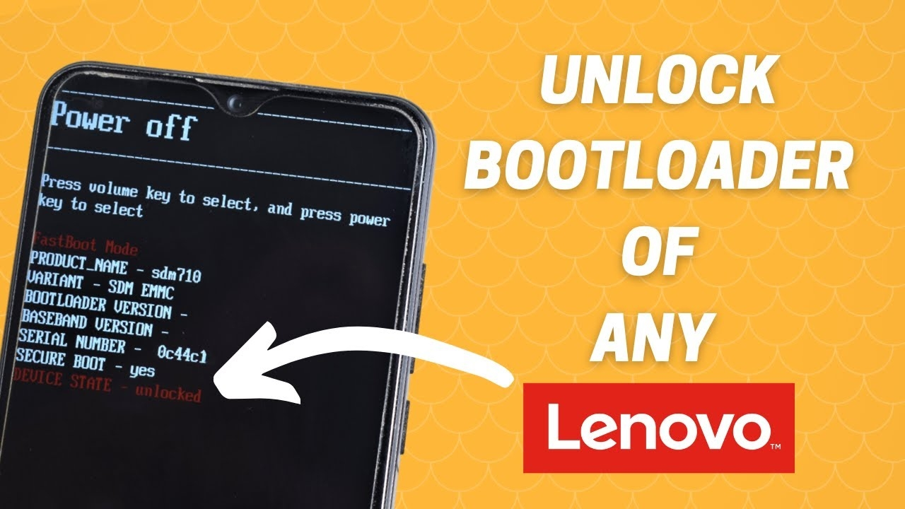 How To Unlock Bootloader Of Any Lenovo   OEM Bootloader Unlock   Official & Unofficial Method