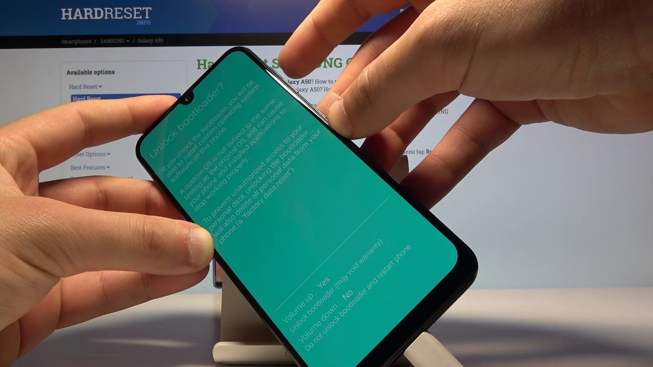How to Unlock Bootloader on SAMSUNG Galaxy A50 - Bootloader Unlock Without PC on Any Samsung