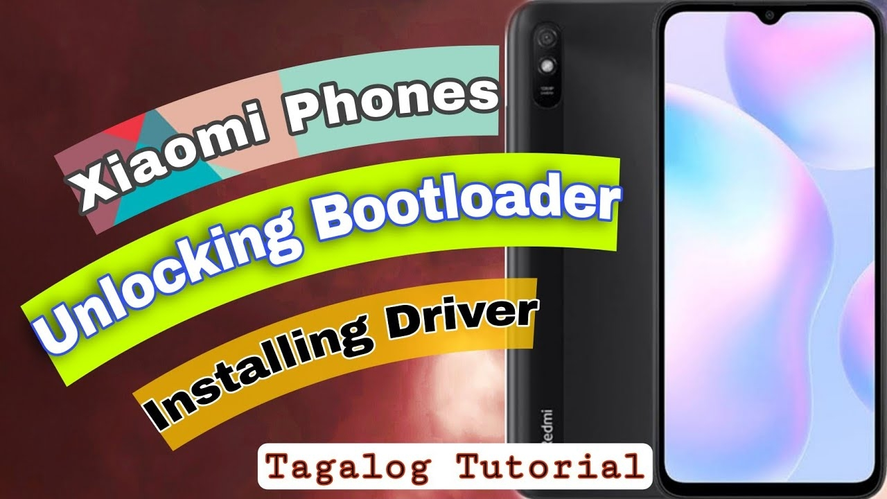 How to Unlocking Bootloader and install driver in any Xiaomi Devices [Tagalog tutorial]