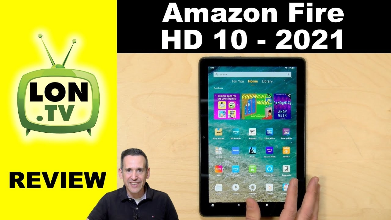 New 2021 Amazon HD 10 / 10 Plus Tablet Review