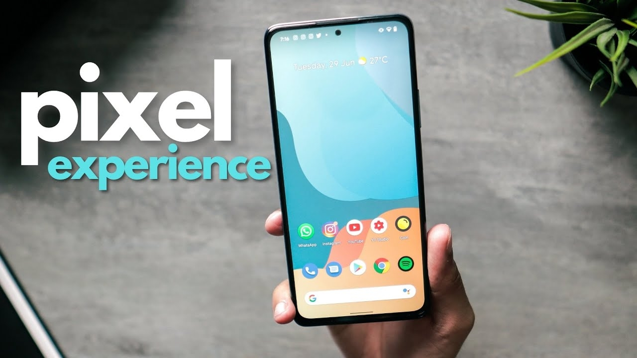 Pixel Experience ROM on Redmi Note 10 Pro! 💯