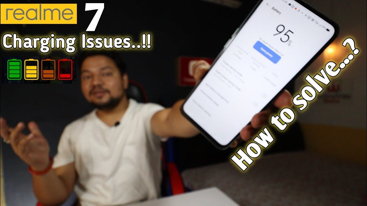 Realme 7 Slow Charging Issue   Try These Steps To Resolve The Problems   Must Try Steps…!