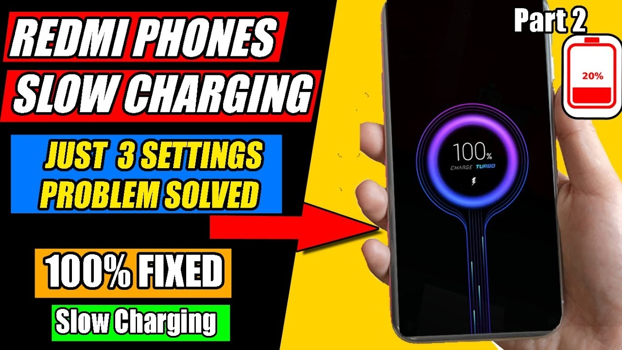 Redmi Phone Slow Charging Solved in Just 3 Settings   Mi Slow Battery Charging Problem Solution