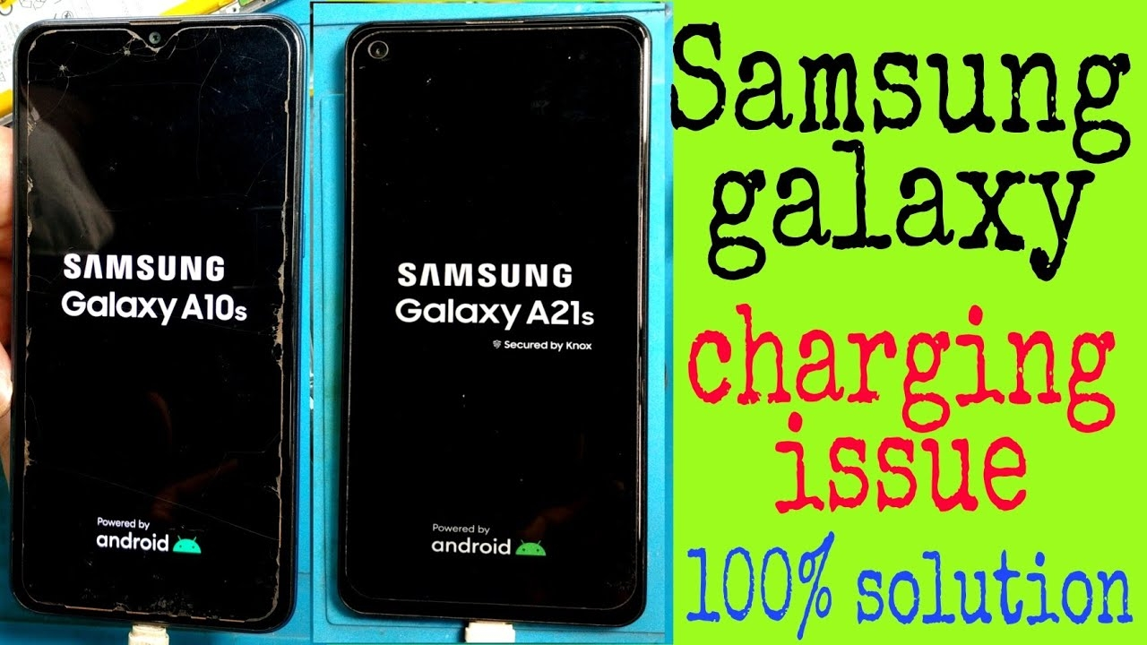 Samsung galaxy how to solve slow charging   Samsung galaxy A21s A10s charging issue 100% solve  