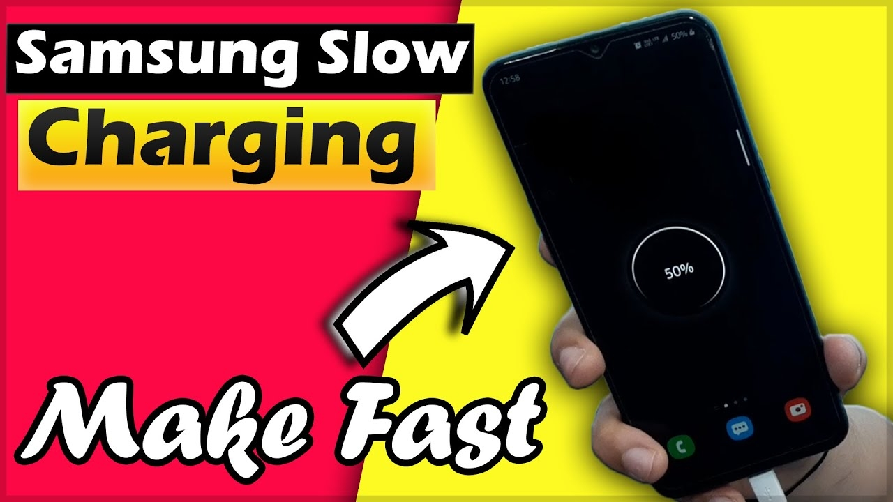 Samsung Slow Charging Problem Solve in 4 Minutes