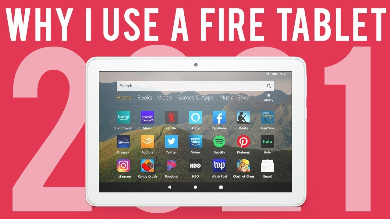 Why I Use a Fire HD8 Tablet in 2021