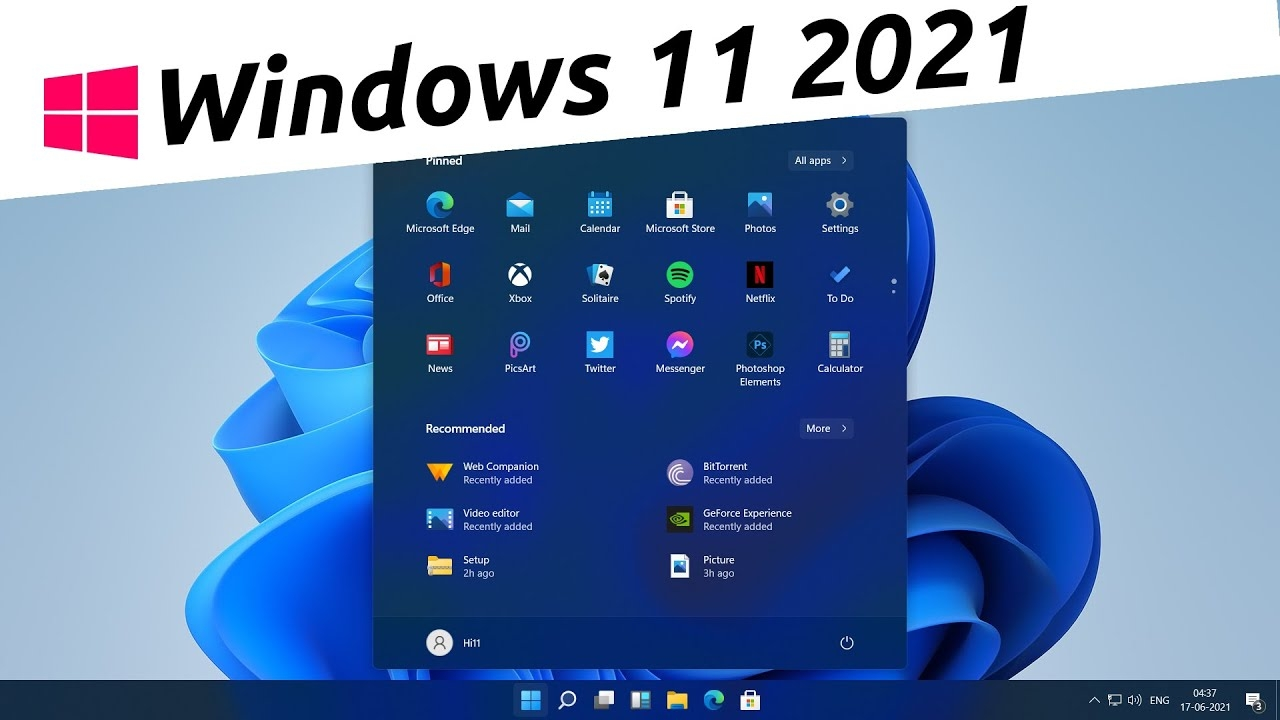 Windows 11 What's New | Top Features Of Windows 11 | Windows 11 2021