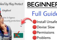 blocked by play protect  fix kingroot install problem  install unsafe  Last Chance