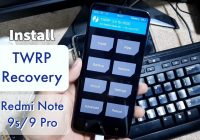How to install TWRP Recovery on Redmi Note 9s/9 Pro (Curtana/Miatoll)