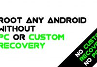 How to ROOT any Android without PC or Custom recovery