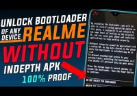 Indepth Apk not Working || How to Unlock Bootloader of any Realme Devices Without Indepth Apk |