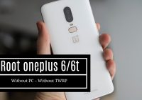 Root oneplus without pc and twrp | root oneplus 6