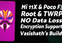 Xiaomi Mi 11X | Install TWRP | Encryption Support | Root | Poco F3 | NO Data Loss | Detailed Guide